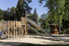 Boisko dla dzieci w parku Obraz Royalty Free