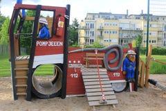 Boisko dla dzieciaków w centach Zdjęcie Stock