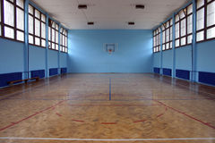 boisko do koszykówki Zdjęcia Stock