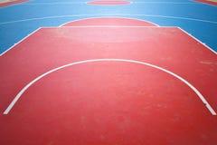 Boisko do koszykówki. Obrazy Stock