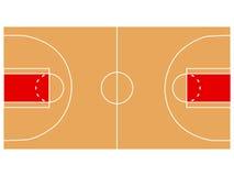 Boisko do koszykówki ilustracja royalty ilustracja