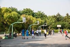 boisko do koszykówki jeżeli ilustracja Zdjęcie Royalty Free