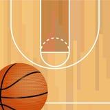 boisko do koszykówki jeżeli ilustracja Fotografia Stock