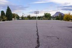 boisko do koszykówki jeżeli ilustracja Zdjęcia Stock