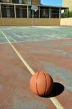 boisko do koszykówki plenerowy Obrazy Royalty Free