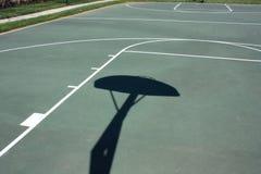 boisko do koszykówki plenerowy Obraz Royalty Free