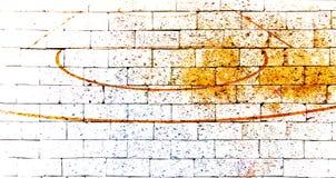 Boisko do koszykówki z czerwonym ściana z cegieł Zdjęcie Royalty Free