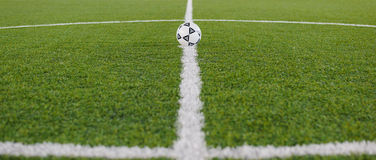 Boisko do piłki nożnej 02 Zdjęcia Royalty Free