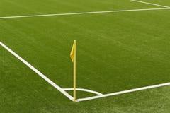 Boisko do piłki nożnej Obrazy Royalty Free
