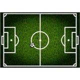 Boisko do piłki nożnej Obraz Stock