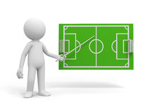 Boisko piłkarskie Fotografia Stock
