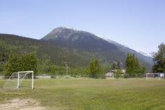 Boisko Piłkarskie W Alaska obraz royalty free