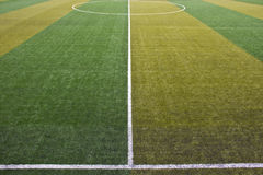 Boisko piłkarskie Zdjęcia Stock