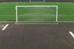 Boisko piłkarskie w szkolnym jardzie 2 Zdjęcie Royalty Free