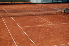 boisko tenis Zdjęcia Royalty Free