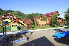 Boisko w Turystycznym kompleksie Obraz Royalty Free