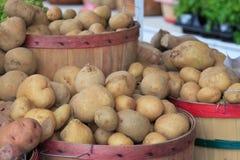 Boisseaux de pommes de terre Image libre de droits