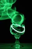 Boisson au néon de partie photo stock