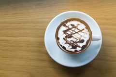 Boisson, café, fond Photos stock