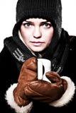 Boisson chaude de l'hiver Photo libre de droits