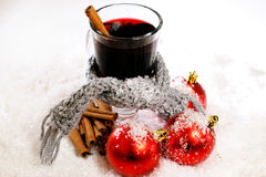 Boisson chaude de Noël photo libre de droits