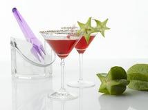 Boisson cosmopolite de cocktail images libres de droits