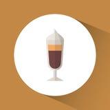 Boisson délicieuse de café illustration libre de droits