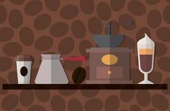 Boisson délicieuse de café illustration stock