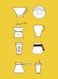 Boisson délicieuse de café illustration de vecteur