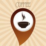 Boisson délicieuse de tasse de café illustration libre de droits