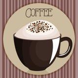 Boisson délicieuse de tasse de café illustration stock