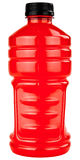 Boisson d'électrolytes de sports dans la bouteille en plastique Photos stock