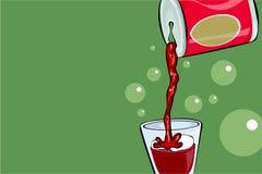 Boisson de bicarbonate de soude Image stock