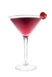 Boisson de cocktail avec la cerise Image stock