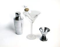Boisson de cocktail de martini de vodka Image libre de droits