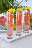 Boisson de cocktail de pastèque Photos libres de droits