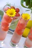 Boisson de cocktail de pastèque Image libre de droits
