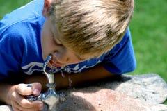 Boisson de l'eau Image stock