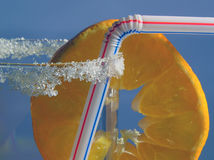 Boisson de mandarine Photographie stock libre de droits