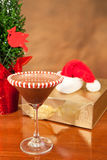 Boisson de Noël Images stock