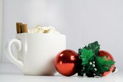 Boisson de Noël Photographie stock