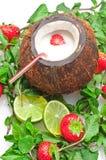 Boisson de noix de coco photos stock