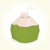 Boisson de noix de coco Photos libres de droits