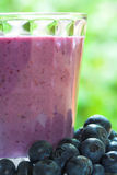 Boisson de Smoothie de fruit Photos stock