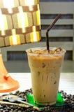 Boisson froide délicieuse de café Photos libres de droits