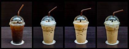 Boisson froide de café Images libres de droits