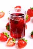Boisson froide de fraise Images stock