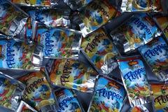 Boisson fruitée d'oro de ` de Rio d de nageoire pour des enfants photo stock