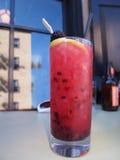 Boisson fruitée de cocktail Photo stock