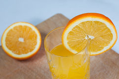 Boisson orange de jus de fruit, soude, Photo stock